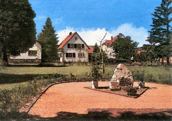 Heimkehrer-Mahnmal 1972