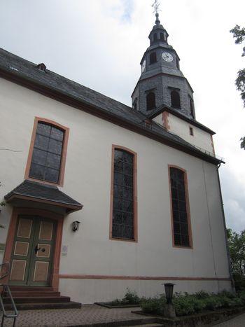 Gerichtswappen am alten Rathaus Oberrosbach